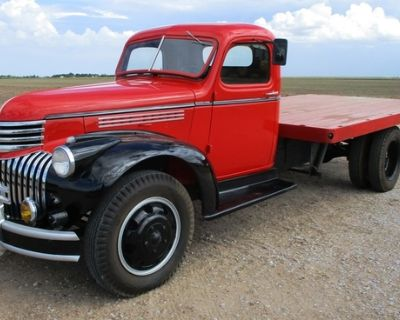 1946 Chevrolet 1 1/2-T Truck - Sells at Auction Oct. 2
