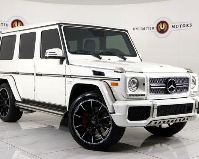 Used 2017 Mercedes-Benz G-Class G65 AMG 4MATIC