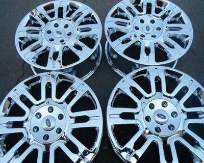 """20"""" Ford F150 Expedition Factory Oem Wheels Rims 2009-2014 Chrome 3788"""