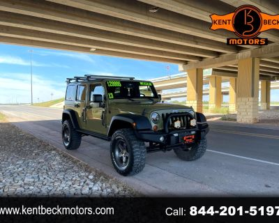 Used 2013 Jeep Wrangler Unlimited Sport 4WD