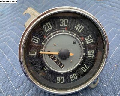 8/ 66 Bug speedometer