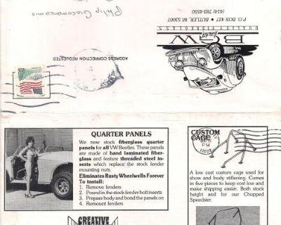 BGW Fiberglas Kit Car News Letters Brochures