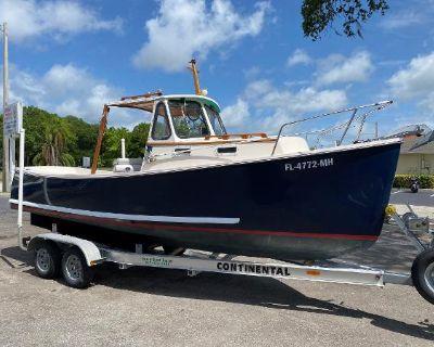 2002 Atlas Boat Works Pompano 21 w YANMAR Diesel