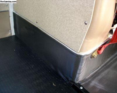 Type 2 Bus Bench Walkthrough Pedestal Rubber Mats