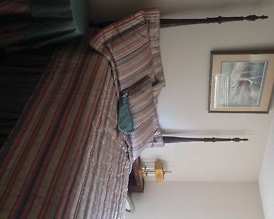 antique queen size bed set 18th century classics by drexel queen mahogany