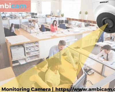 Ambicam provides Best Office Monitoring Camera system