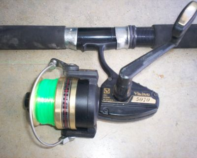 Nepture 330 - viking 5070 rod and reel