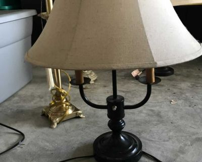 Variety of End table lamps