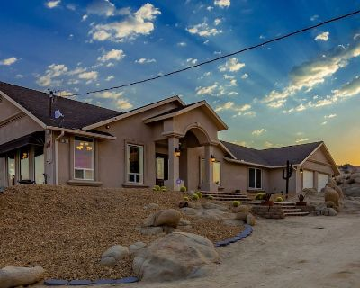 Desertview Ranch is 3 Private Acres With Amazing 360 Degree Views - Yucca Valley