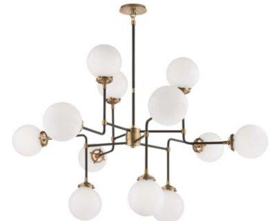 Visual Comfort Ian K. Fowler bistro modern chandelier