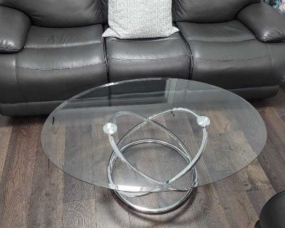 reclining three-seater sofa