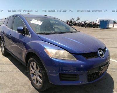 Salvage Blue 2007 Mazda Cx-7