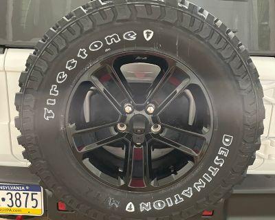Pennsylvania - 2021 Sport Unlimited Altitude Tires and Wheels w/ TPMS sensors Set of 5