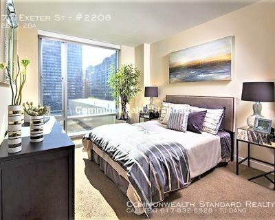 AVAILBLE NOW!! 2BED/2BATH IN BACK BAY - PET FRIENDLY!!