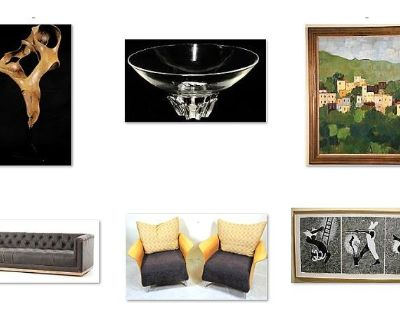 Contemporary Art and Furniture Auction
