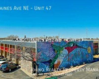 5801 Haines Ave Ne #47, Albuquerque, NM 87110 Studio Apartment