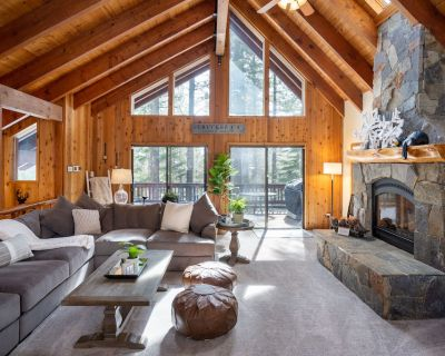 Luxury 5 Bd Tahoe Donner Chalet - 2 Master King Bed Suites --newly Remodeled! - Truckee