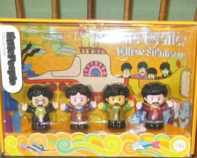 Brand New Fisher Price Little People BEATLES Collectible Figures Playset