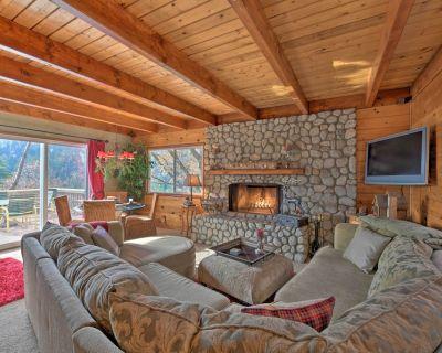 NEW! Mountainside Cabin w/ Deck, 16 Mi to Skiing! - Lake Arrowhead