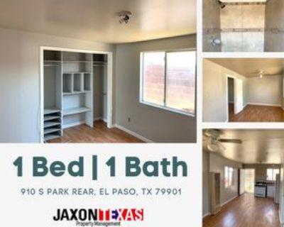 910 S Park St #PARKREAR, El Paso, TX 79901 1 Bedroom Apartment