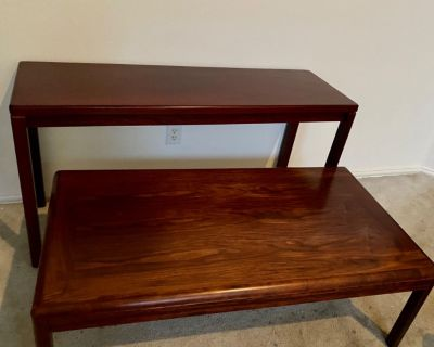 coffee and end table, sold separately or together