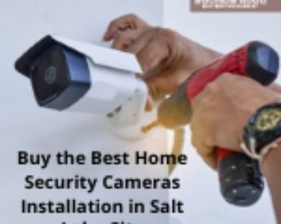 Buy the Best Home Security Cameras Installation in Salt Lake City