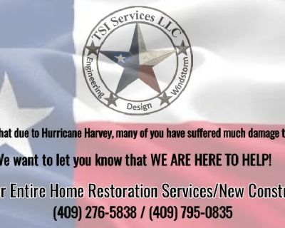 Home restoration and construction services