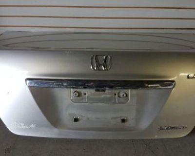 05 08 Honda Legend Acura Rl Silver Rear Trunk Lid Jdm J35a