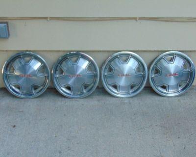 14 inch GMC Caballero / Spirit Hub Caps SET OF 4