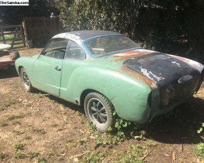 1969 Karmann Ghia project