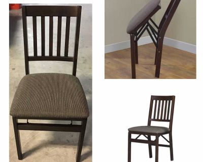 Stakmore Solid Wood Folding Chair, Espresso Finish