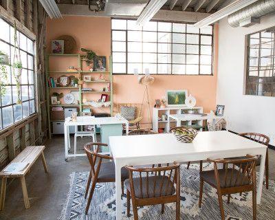 Eclectic Workshop Space, Los Angeles, CA