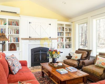 Modern 2150 square feet country castle in Great Barrington