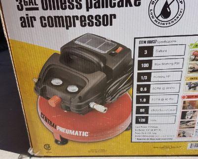 Pancake compresor