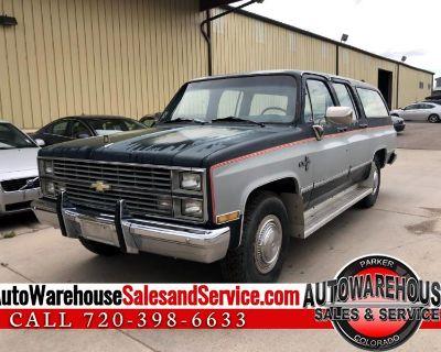 Used 1984 Chevrolet C/K 20 Suburban 2WD