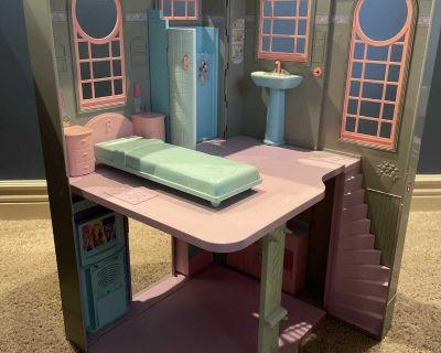 Vintage Barbie doll house