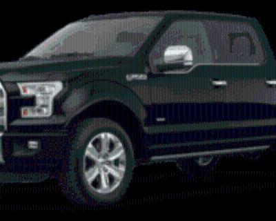 2017 Ford F-150 Platinum SuperCrew 5.5' Box 4WD