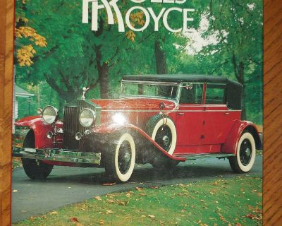 The Classic Rolls-Royce Cars large illustrated book $4