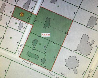 5 Properties at the corner of Farris Rd & Crane Rd!