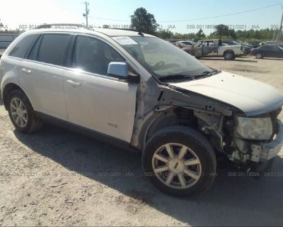 Salvage White 2007 Lincoln Mkx