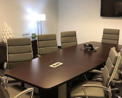Private Meeting Room for 8 at Peachtree Offices at Perimeter, LLC.