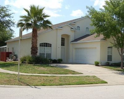 5 Bedroom, 2 Masters, 3rd Master can add private En suite Vacation Home in Davenport, Florida 501 - Four Corners