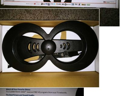 Indoor/outdoor hdtv antenna clearstream 2max - OBO & FCFS