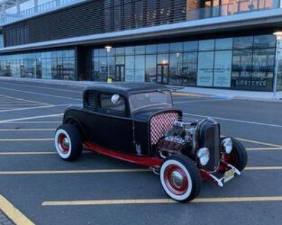 1932 Ford 5 Window 2-door 5-Window Coupe Flathead V8 Hi-Boy Restored