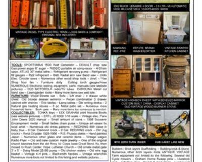 Misegadis Personal Property Auction