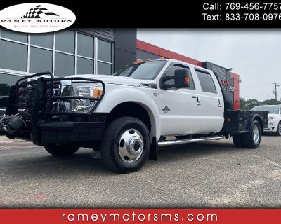 2014 Ford F-450 SD 4WD DRW FLATBED LARIAT