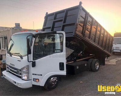 Very Low Mileage 2016 Isuzu NPR Dump Truck Gas V8 6.0 AT