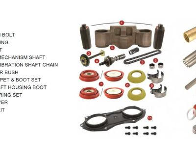 "Semi Truck and Trailer "" Knorr Brake Caliper Rebuild Kit""."