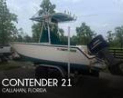 21 foot Contender 21