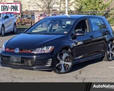 2016 Volkswagen Golf GTI Autobahn with Performance Package 4-door DSG